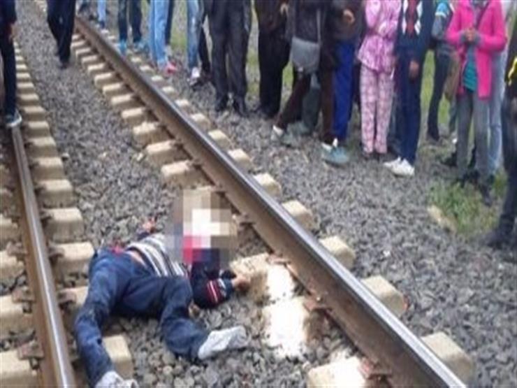 مصرع شخص أسفل عجلات قطار في أسوان