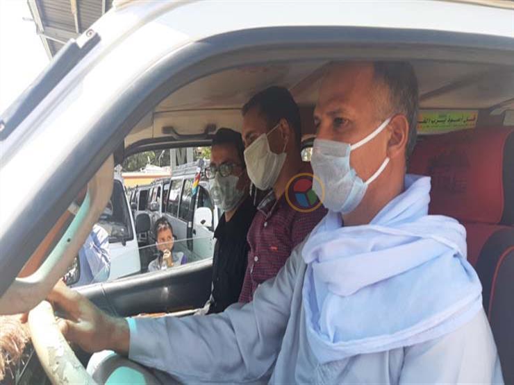 لعدم ارتداء الكمامة.. اتخاذ الإجراءات القانونية ضد 1372 سائق نقل جماعي