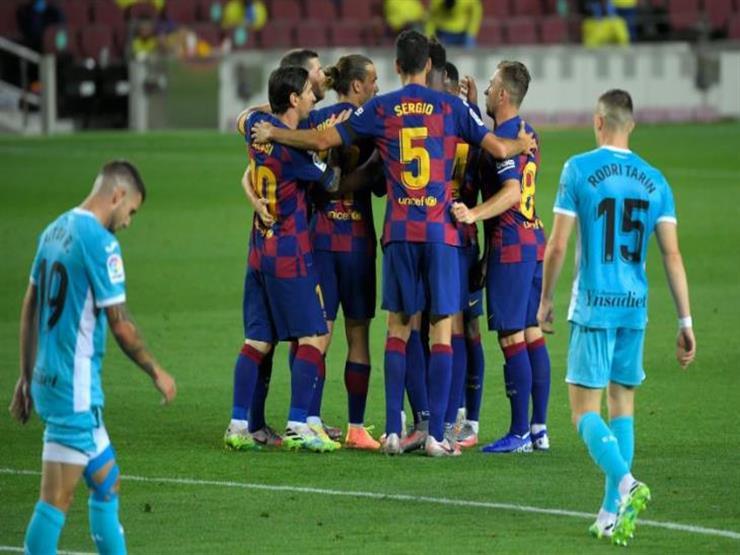 ميسي يقود هجوم برشلونة أمام بيلباو في الدوري الإسباني
