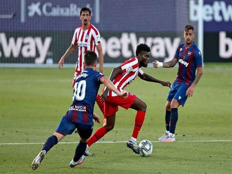 أتلتيكو مدريد يهزم ليفانتي في الدوري الإسباني