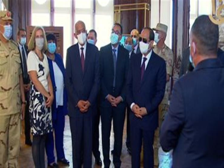 الرئيس السيسي يتفقد قصر البارون بعد افتتاحه اليوم