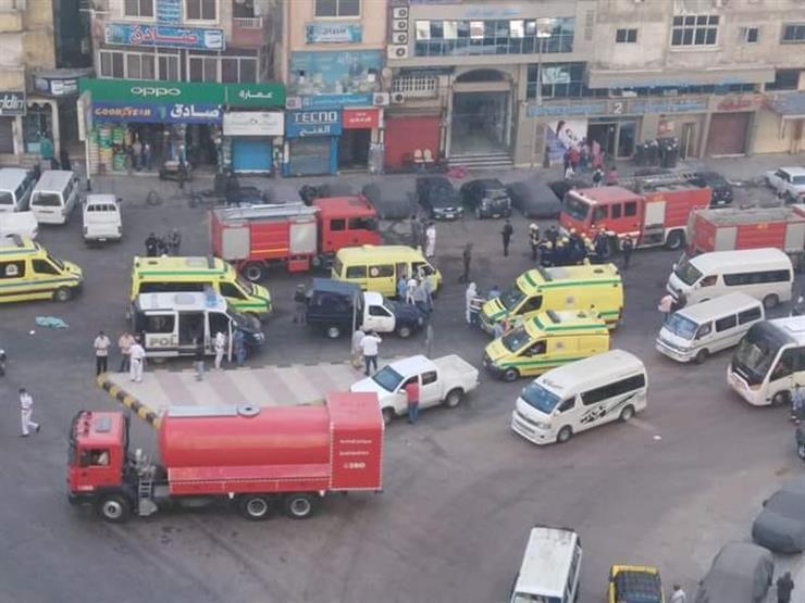 مأساة الإسكندرية.. مصابون بكورونا ماتوا في حريق بمستشفى ولم يقتلهم الفيروس