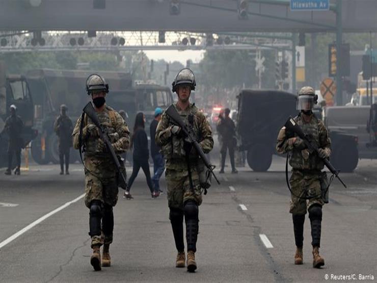 البنتاجون ينقل حوالي 1600 من قوات الجيش إلى منطقة واشنطن