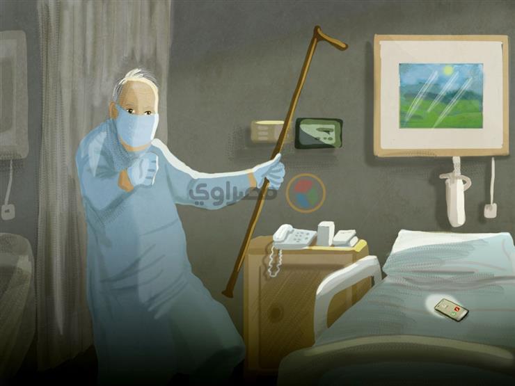 """""""رقصة"""" مع كورونا.. نفحات الفرحة في مستشفى ملوي للعزل"""