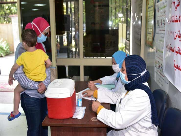"""""""الصحة"""" تطلق الحملة القومية للتطعيم ضد شلل الأطفال"""