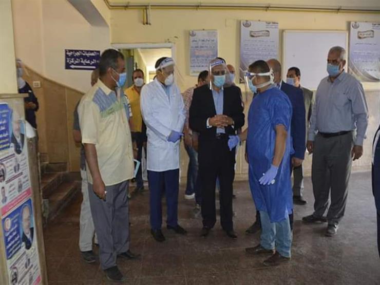 محافظ الجيزة يوجه بتوفير 5 أجهزة أشعة بمستشفى أوسيم   مصراوى