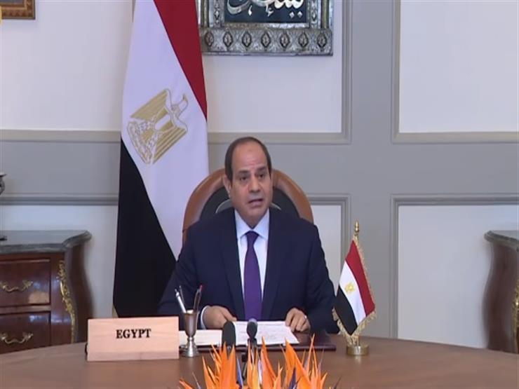 """السيسى يوجه بتعزيز التنسيق والتعاون لتحقيق جدارة مشروع """"مستقبل مصر"""""""