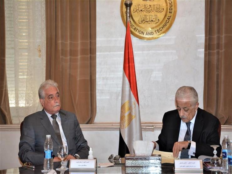 وزير التربية والتعليم يناقش سُبل تطوير التعليم بجنوب سيناء