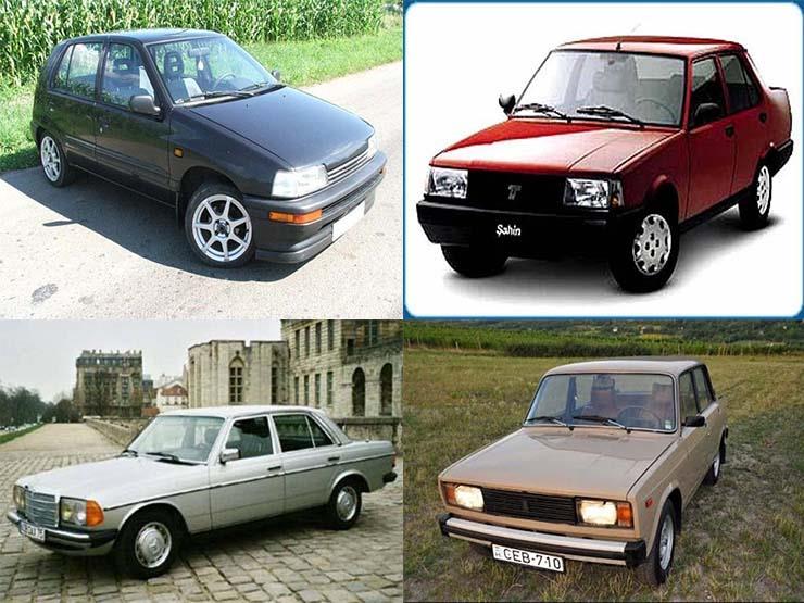 قائمة بأسعار أبرز السيارات المستعملة المتوقع تخريدها وخروجها من مصر