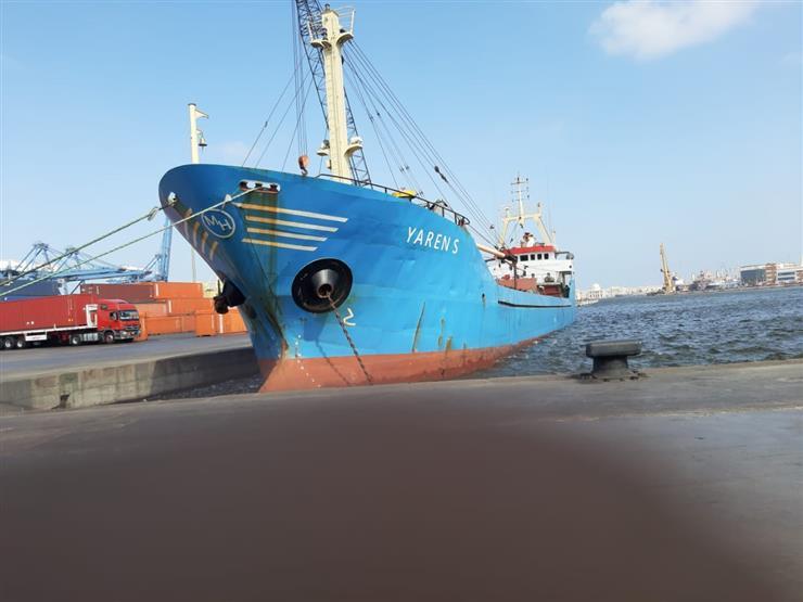 وصول 161 ألف طن ملح وفحم إلى ميناء الإسكندرية