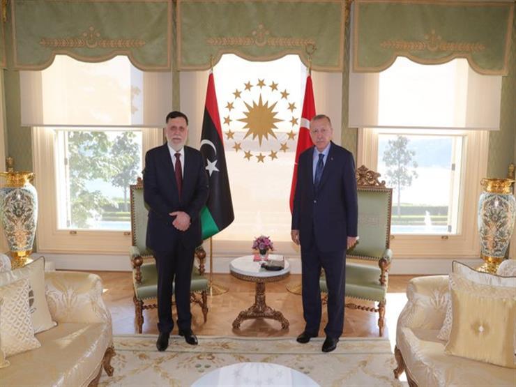 الرئاسة التركية: إردوغان التقى السراج في اسطنبول