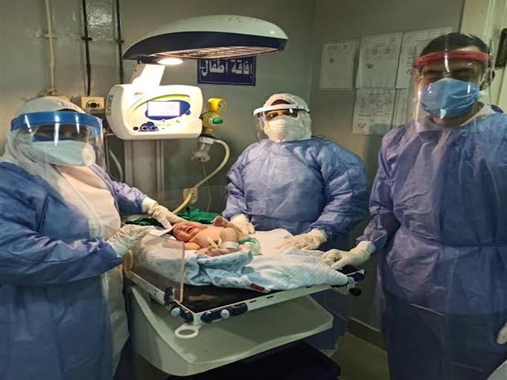 مشتبه إصابتهم بكورونا.. 3 حالات ولادة ناجحة بمستشفى المنيرة خلال 24 ساعة