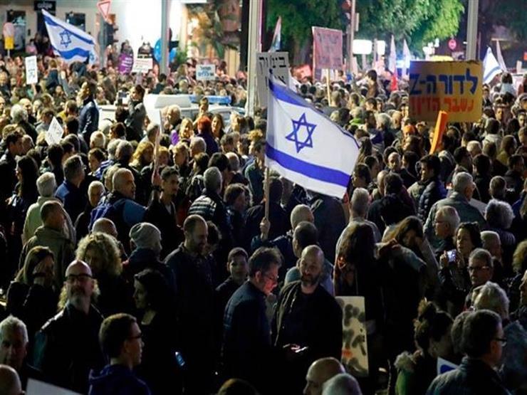 آلاف الإسرائيليين يتظاهرون مُطالبين نتنياهو بالاستقالة