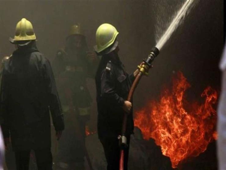 سبقه صوت انفجار.. إخماد حريق داخل شركة الحديد والصلب في شبرا الخيمة