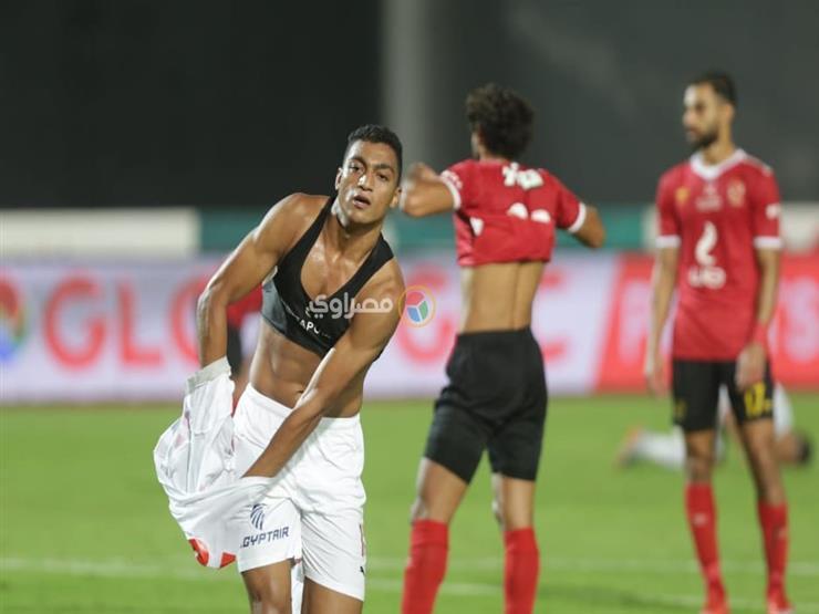 مصطفى محمد يقود تشكيل الزمالك لمواجهة طنطا في الدوري