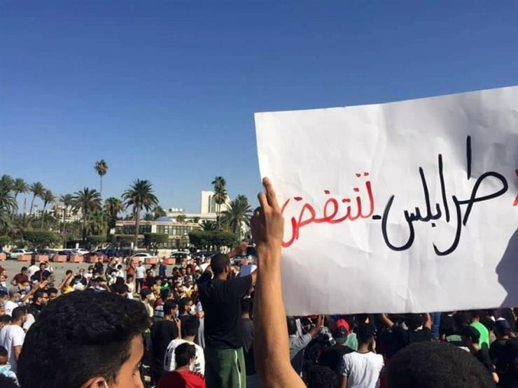 """طرابلس تنتفض ضد """"فساد الوفاق"""" ومرتزقة تركيا.. والهتاف: ارحل يا سرّاج"""
