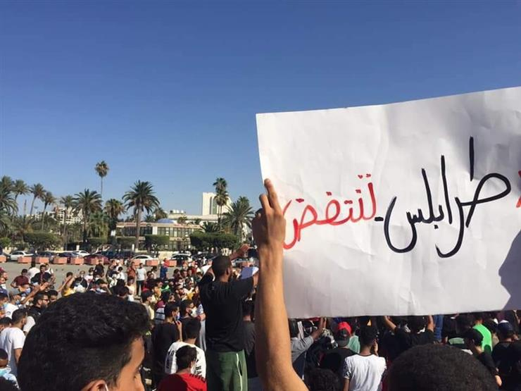 مليشيات طرابلس تطلق النار على المحتجين في العاصمة الليبية