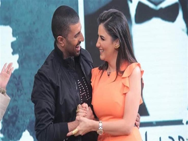 """""""مع الملكة"""".. محمد سامي ينشر صورة رفقة مي عمر"""
