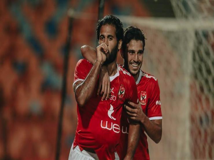 """والد مروان محسن يكشف سبب وضع ابنه الكرة على """"بطنه"""" بعد هدف الجونة"""