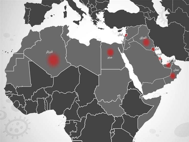 """حالات كورونا الحرجة: السعودية تتصدر ومصر الـ7.. وتجاهل من 9 دول عربية """"تفاعلي"""""""
