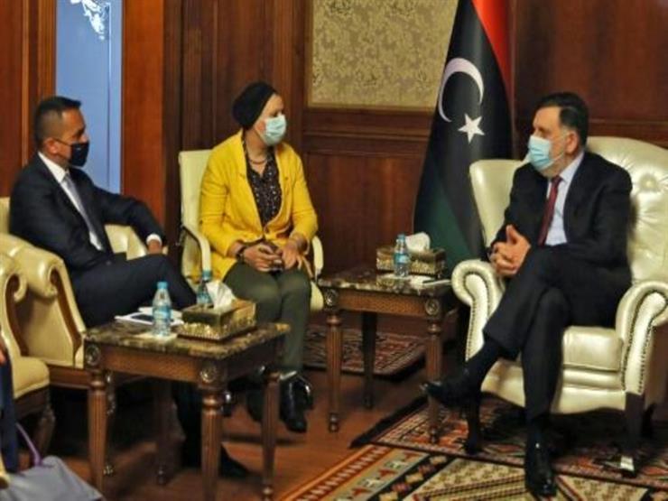 """السرّاج يلتقي وزير الدفاع الإيطالي في طرابلس """"للتشاور"""""""