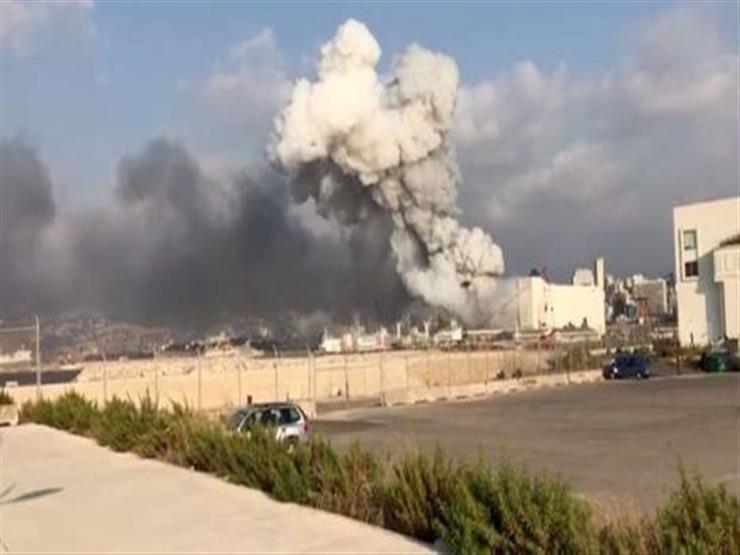 من مسافة 1.5 ميل.. الفيديو الأقرب لموقع انفجار بيروت | مصراوى