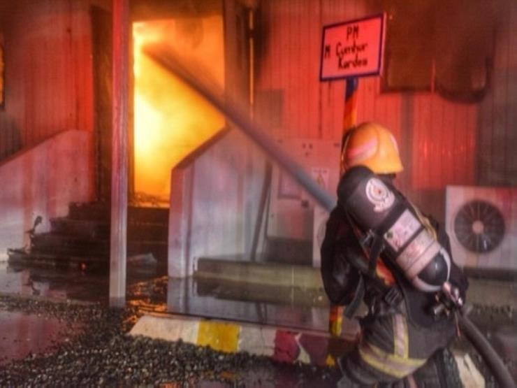 حريق هائل يندلع بمكتب المدعي العام الإندونيسي في جاكرتا