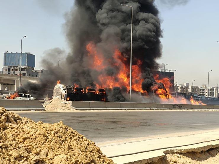 تتبع شركة خاصة.. البترول: ليس لنا علاقة بسيارة حريق الدائري