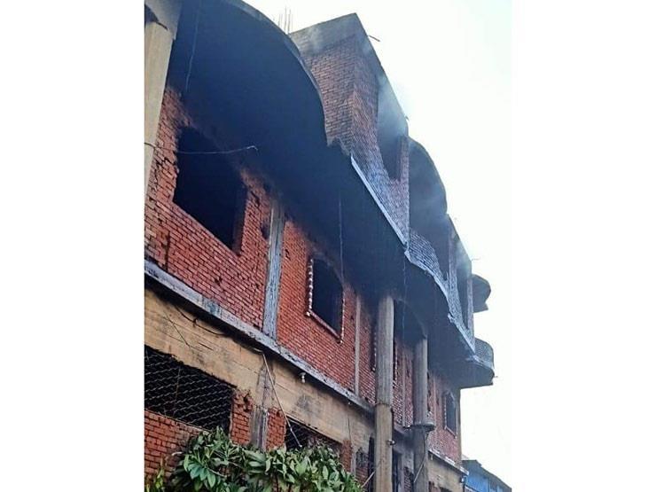 المعاينة: ماس كهربائي وراء حريق مصنع بلاستيك في أوسيم