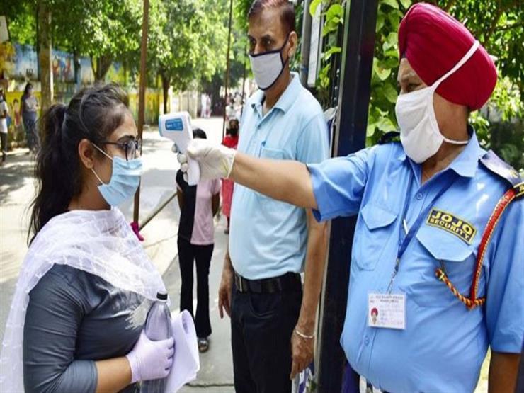 كورونا في الهند: الإصابات اليومية  تتراجع.. والإجمالي يتخطى 5.5 ملايين