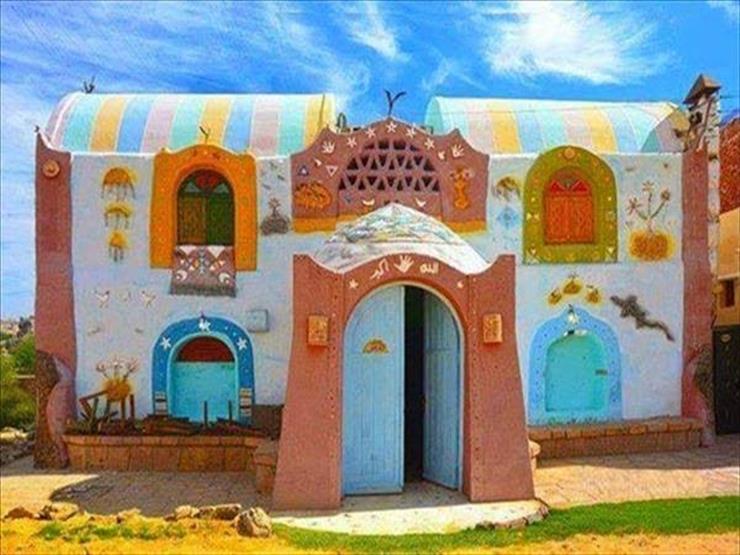 صور.. رحلة العمر في هذه القرية النوبية المصرية