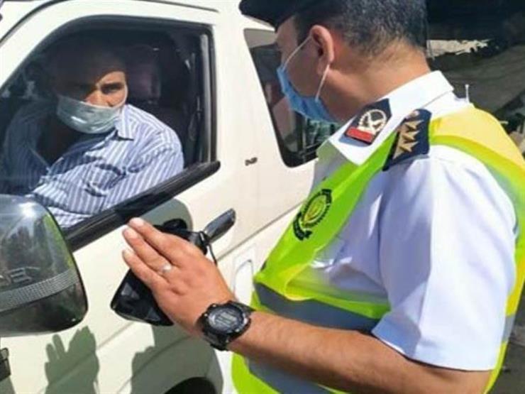 الداخلية: ضبط 2106 سائق نقل جماعي لعدم الالتزام بارتداء الكمامات