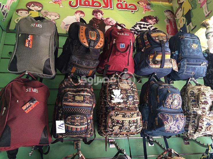 تراجع الإقبال على الحقائب المدرسية بنسبة 50% والأسعار مستقرة