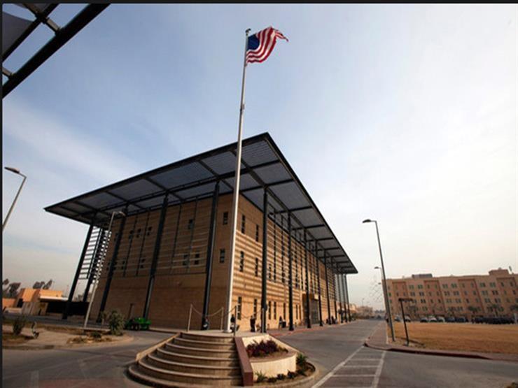 سقوط صاروخ قرب السفارة الأمريكية في بغداد دون خسائر