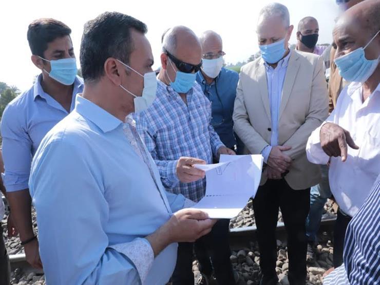 يخدم المواطنين والحركة السياحية.. وزير النقل يتفقد مشروع محور شمال الأقصر