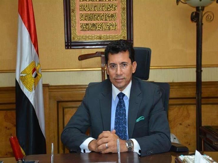 """من أجل مبادرة """"لا للتعصب"""".. وزير الرياضة في زيارة لمؤسسة أونا"""
