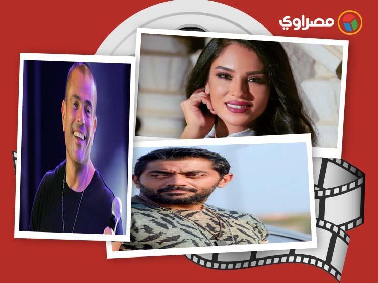 النشرة الفنية| فنانة ترتدي الحجاب ووفاة زوجة فنان وتأجيل حفل عمرو دياب