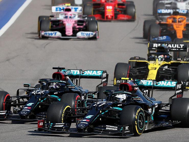 """معاقبة هاميلتون لم تمنع مرسيدس من الفوز.. بوتاس يتوج بـ""""فورمولا-1"""" روسيا"""