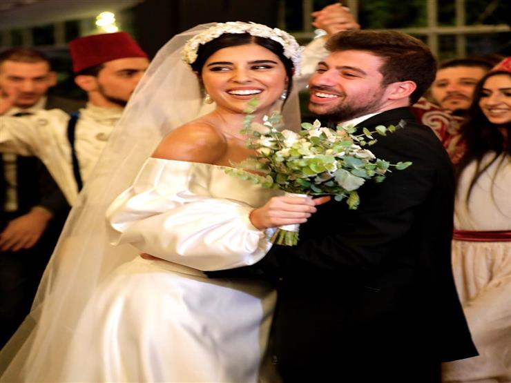 زينة مكي تحتفل بزفافها على نبيل خوري (صور وفيديو)