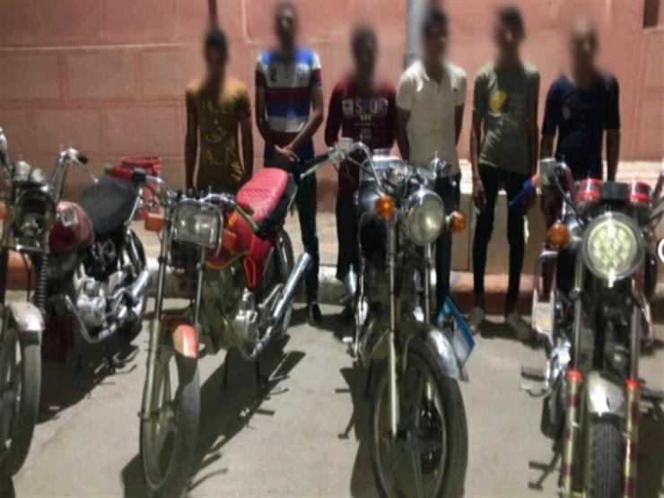 بعد 4 وقائع.. سقوط عصابة سرقة الدراجات النارية في سوهاج
