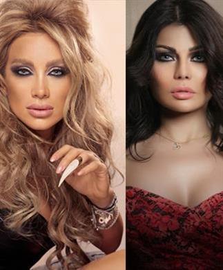 حفلات عيد الفطر: هيفاء وهبي بالشفاف ومايا دياب بالقصير