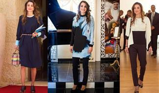 استلهمي أفكاراً من أناقة الملكة رانيا