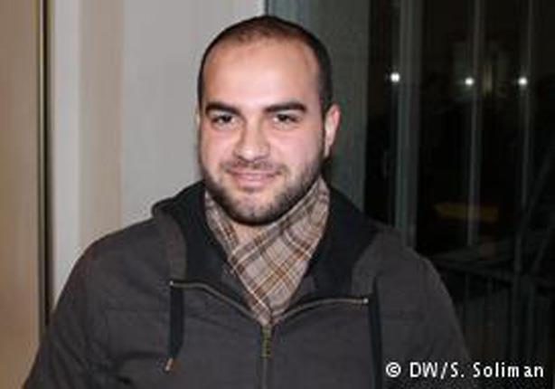 الطالب في شعبة الطب محمد مصطفى
