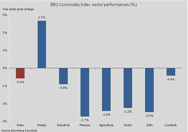 خبير عالمي: انخفاض معظم أسعار السلع عدا الغاز الطبيعي بسبب دخول الشتاء نادي خبراء المال