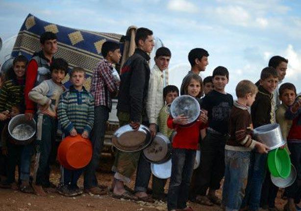 انتشر مرض التيفوئيد في مخيم اليرموك الشهر الماضي