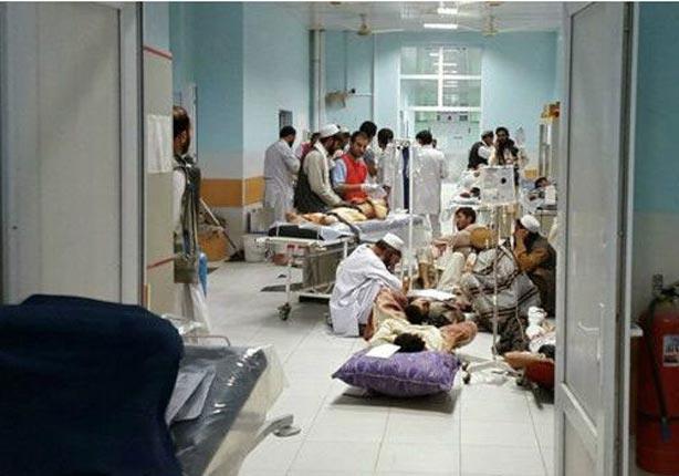 تقول المنظمة إنها عالجت أكثر من 400 مصاب في المستشفى منذ استيلاء حركة طالبان على المدينة قبل أيام.