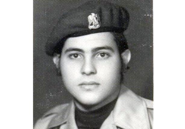 صورة هاني شاكر في الجيش بالزي العسكري
