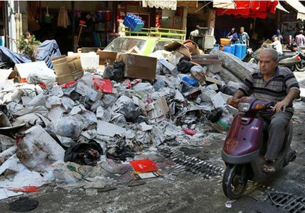 النفايات تتكدس في مخيم صبرا ببيروت