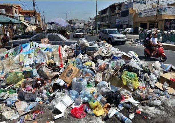 تعاني بيروت من ازمة نفايات