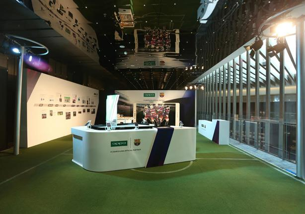 The-exhibition-hall-of-OPPO-phone